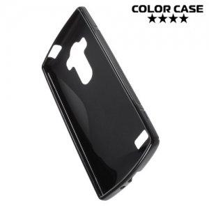 Силиконовый чехол для LG G4s H736 ColorCase - Черный
