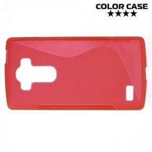 Силиконовый чехол для LG G4s H736 ColorCase - Красный