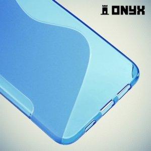 Силиконовый чехол для Samsung Galaxy S6 Edge+ ColorCase - Синий