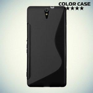 Силиконовый чехол для Sony Xperia C5 Ultra и C5 Ultra Dual - Черный