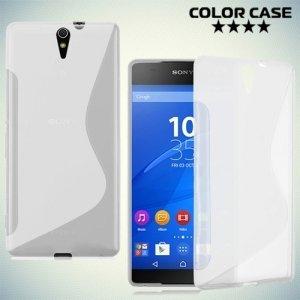 Силиконовый чехол для Sony Xperia C5 Ultra и C5 Ultra Dual - Прозрачный