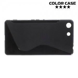 Силиконовый чехол для Sony Xperia M5 и M5 Dual - Черный
