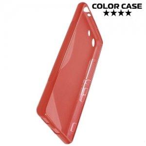 Силиконовый чехол для Sony Xperia M5 и M5 Dual - Красный
