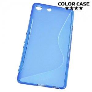 Силиконовый чехол для Sony Xperia M5 и M5 Dual - Синий