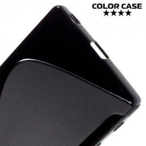 Силиконовый чехол для Sony Xperia Z5 Premium и Z5 Premium Dual - Черный