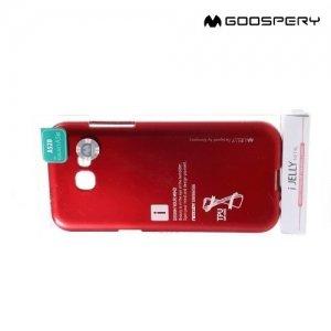 Goospery Jelly силиконовый чехол для Samsung Galaxy A5 2017 SM-A520F - Красный