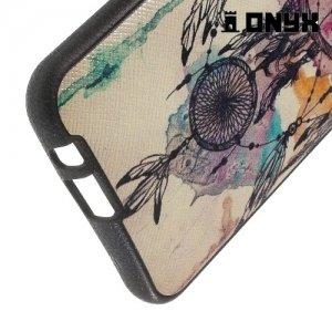 Силиконовый чехол под кожу для HTC One М9 Plus - Ловец Снов