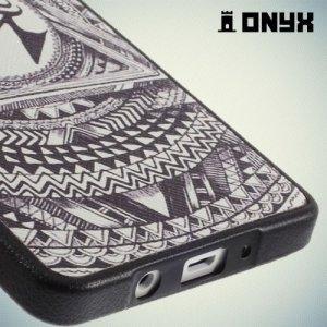 Силиконовый чехол под кожу для Samsung Galaxy A5 - Глаз Гора