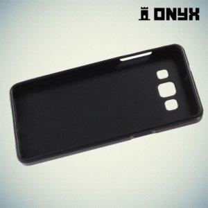 Силиконовый чехол под кожу для Samsung Galaxy A5 - Хаки