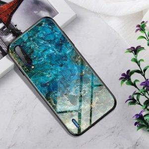 Силиконовый Градиентный Устойчивый к Царапинам Стеклянный Чехол для Xiaomi Mi A3 Нефрит