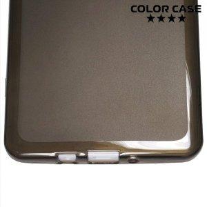 Силиконовый матовый чехол для Samsung Galaxy A5 ColorCase - Черный