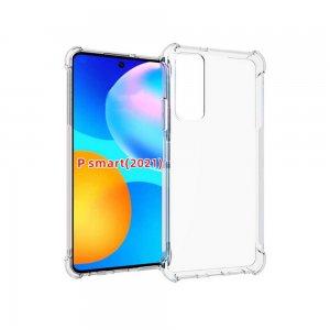 Spectrum Силиконовый противоударный прозрачный чехол для Huawei P Smart 2021