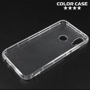 Spectrum Силиконовый противоударный прозрачный чехол для Huawei P20 Lite
