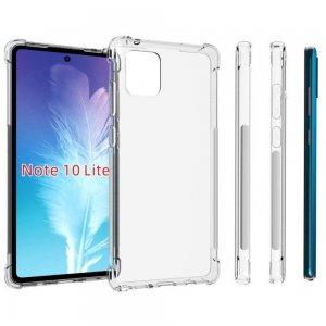 Spectrum Силиконовый противоударный прозрачный чехол для Samsung Galaxy Note 10 Lite