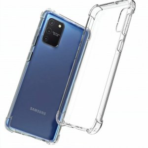 Spectrum Силиконовый противоударный прозрачный чехол для Samsung Galaxy S10 Lite