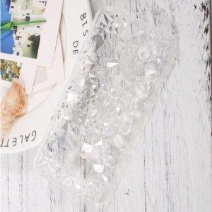 Sulada силиконовый чехол для Samsung Galaxy S8 с объемным орнаментом - Прозрачный