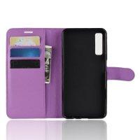 Чехол книжка для Samsung Galaxy A7 2018 SM-A750F - Фиолетовый