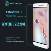 Противоударное закаленное стекло на Asus Zenfone 3 ZE520KL Nillkin Amazing 9H