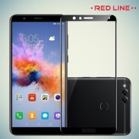 Red Line Защитное 3D стекло для Huawei Honor 7X - Черное