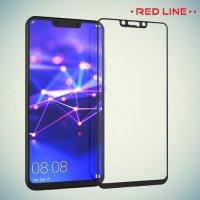 3D Защитное стекло для Huawei Mate 20 lite - Черное Red Line