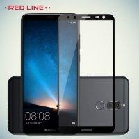 3D Защитное стекло для Huawei Nova 2i - Черное Red Line