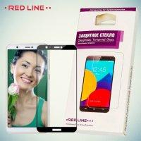 3D Защитное стекло для Huawei P Smart - Черное Red Line