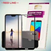 Red Line Изогнутое защитное 3D стекло для Huawei P20 - Черное