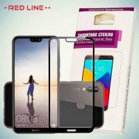 3D Защитное стекло для Huawei P20 Lite - Черное Red Line