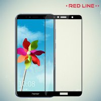 3D Защитное стекло для Huawei Y6 Prime 2018 / 7A Pro / 7C - Черное Red Line
