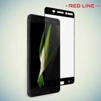 3D Защитное стекло для Nokia 6 / 6.1 2018 - Черное Red Line