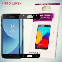3D Защитное стекло для Samsung Galaxy J4 2018 SM-J400F - Черное Red Line