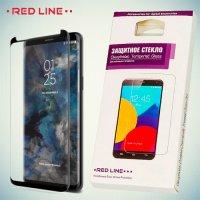 3D Защитное стекло для Samsung Galaxy S9 Plus - Черное Red Line