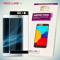 3D Защитное стекло для Sony Xperia XA2 - Черное Red Line