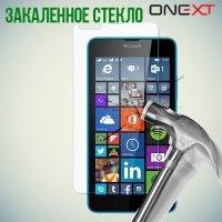 OneXT Закаленное защитное стекло для Microsoft Lumia 640 (3G, LTE, Dual Sim)