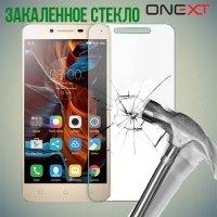 OneXT Закаленное защитное стекло для Lenovo Vibe C2 (K10A40)