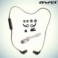 Awei A960BL беспроводные bluetooth наушники гарнитура – Черный