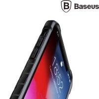Baseus Race Case противоударный силиконовый чехол с усиленной защитой для iPhone XR