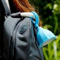 Беспроводная Bluetooth колонка с креплением на рюкзак и руль велосипеда