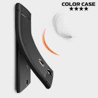 Carbon Силиконовый матовый чехол для Sony Xperia XA2 Plus - Коралловый