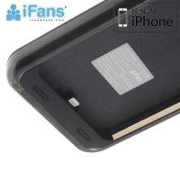 Чехол аккумулятор для iPhone 6S / 6 IFANS ULTRA SLIM 3200 mAh - Черный