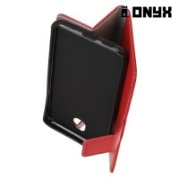 Чехол флип книжка для LG X view - Красный