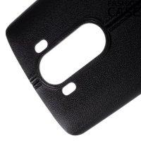 Силиконовый чехол под кожу для LG V10 - Черный