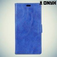 Чехол книжка для Asus Zenfone 3 ZE520KL - Синий