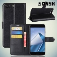 Чехол книжка для Asus Zenfone 4 ZE554KL - Черный