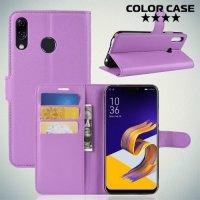 Чехол книжка для Asus Zenfone 5 ZE620KL - Фиолетовый