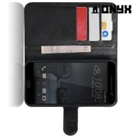 Чехол книжка для HTC 10 / 10 Lifestyle - Черный