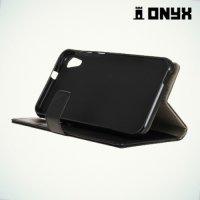 Чехол книжка для HTC Desire 830 Dual Sim  - Черный