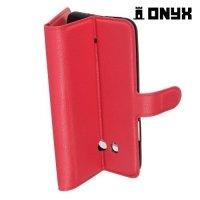 Чехол книжка для HTC U11 - Красный