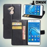Чехол книжка для Huawei Honor 6C - Черный