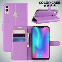Чехол книжка для Huawei Honor 8C - Фиолетовый